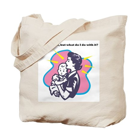Parenting Tote Bag-Creative Thought logo on back