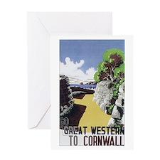 Vintage Great Western Railway Greeting Card
