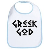 Greek God Bib