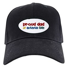 Proud Dad Of Autistic Kids 2 Baseball Hat