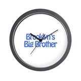 Brooklyn's Big Brother Wall Clock