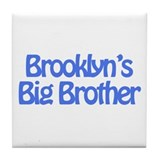 Brooklyn's Big Brother Tile Coaster