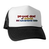 Proud Dad (Autistic & NonAutistic) Trucker Hat