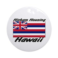 Hickam Housing Hawaii Ornament (Round)
