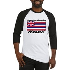 Hawaiian Beaches Hawaii Baseball Jersey