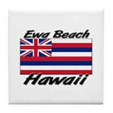 Ewa Beach Hawaii Tile Coaster