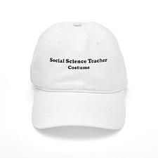 Social Science Teacher costum Baseball Cap