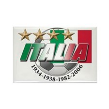 Italian soccer emblem Rectangle Magnet (100 pack)