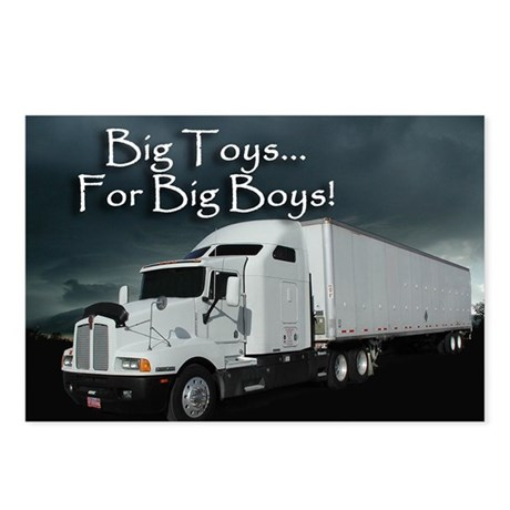 For Big Boys Postcards (Package of 8)