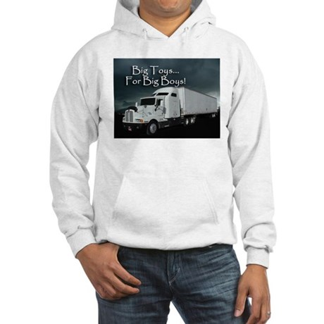 For Big Boys Hooded Sweatshirt