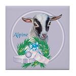 Alpine Goat Gavin Tile Coaster