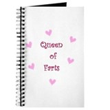 Queen of Hearts Queen of Farts Journal