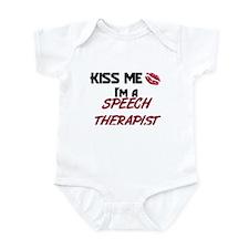 Kiss Me I'm a SPEECH THERAPIST Onesie