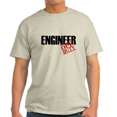 Off Duty Engineer Light T-Shirt