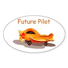 Future Pilot Oval Decal