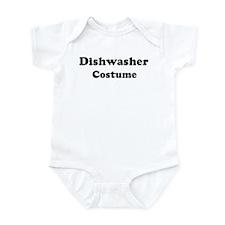 Dishwasher costume Infant Bodysuit