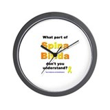 What Part? (SB) Wall Clock