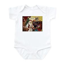 Santa's Therapy Dog (Lab-Y) Infant Bodysuit