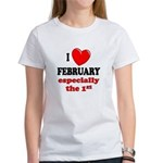 February 1st Women's T-Shirt