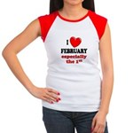 February 1st Women's Cap Sleeve T-Shirt