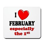 February 1st Mousepad