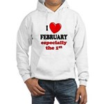 February 1st Hooded Sweatshirt