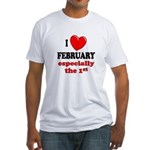 February 1st Fitted T-Shirt