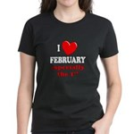 February 1st Women's Dark T-Shirt