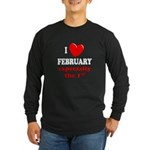 February 1st Long Sleeve Dark T-Shirt