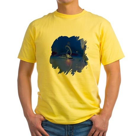 The Serpent Yellow T-Shirt