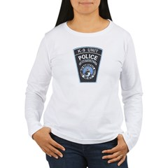 Nantucket Police K-9 Women's Long Sleeve T-Shirt