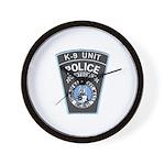 Nantucket Police K-9 Wall Clock