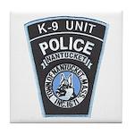 Nantucket Police K-9 Tile Coaster