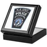 Nantucket Police K-9 Keepsake Box