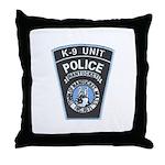 Nantucket Police K-9 Throw Pillow