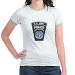Nantucket Police K-9 Jr. Ringer T-Shirt