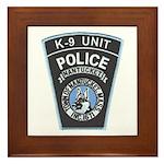 Nantucket Police K-9 Framed Tile