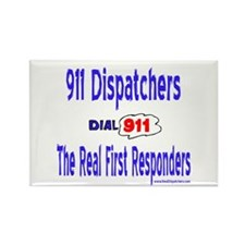 911 Dispatcher Responder Gift Rectangle Magnet (10