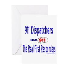 911 Dispatcher Responder Gift Greeting Card