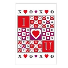 Game of Love Postcards (Package of 8)