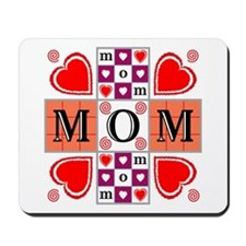 Heartvision Mom Heart Design Mousepad