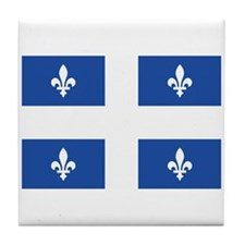 Quebec Flag Tile Coaster