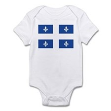 Quebec Flag Infant Bodysuit