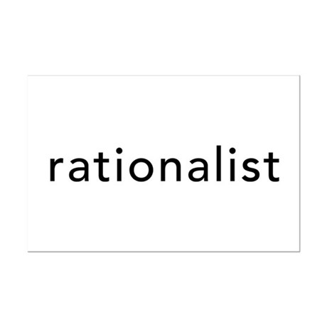 Rationalist Mini Poster Print
