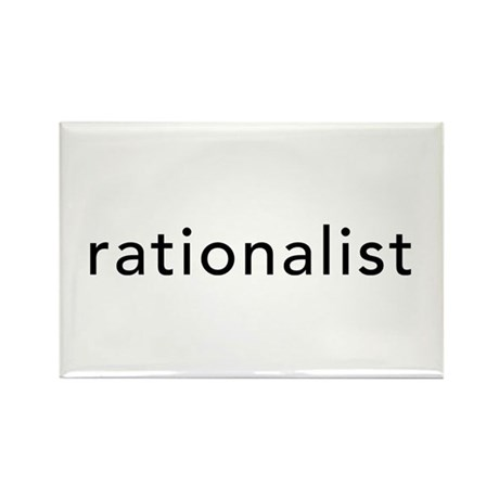 Rationalist Rectangle Magnet (100 pack)