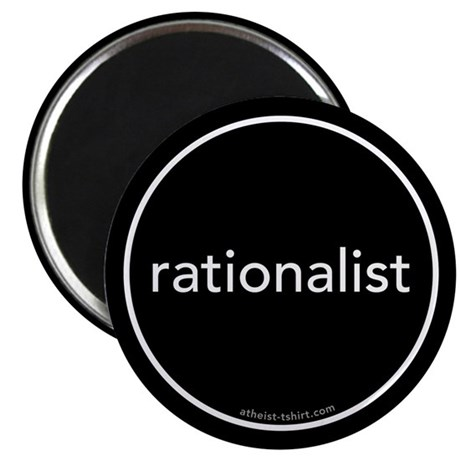 "Rationalist 2.25"" Magnet (100 pack)"