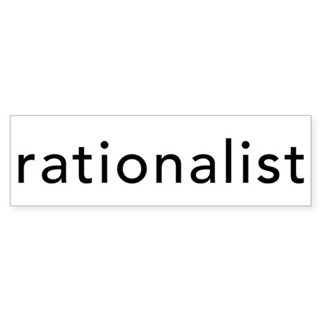 Rationalist Sticker (Bumper)