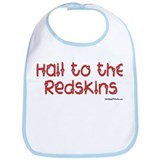 Hail to the Redskins Bib