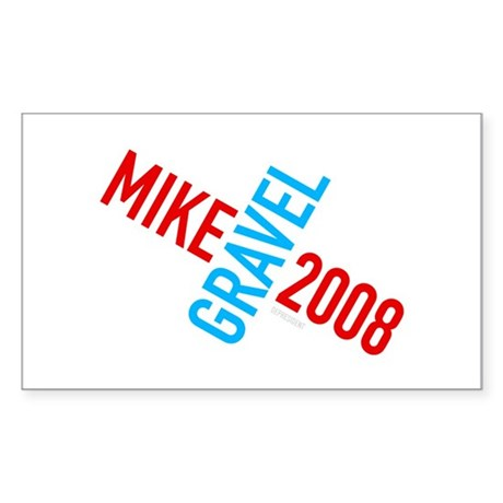 Twisted Gravel 2008 Rectangle Sticker