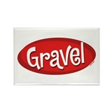 Retro Gravel Rectangle Magnet (100 pack)